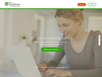 QuickBooks Self Employed Home Page Concept