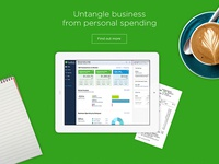 QuickBooks Self Employed Home Page Partial (2)