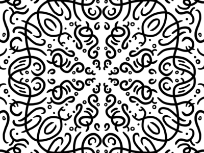 Playing with Procreate symmetry illustration symmetryobsession symmetry procreate