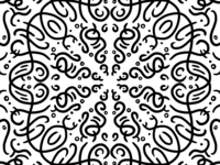 Playing with Procreate symmetry