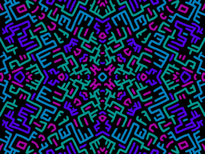Procreate playtime continued symmetry procreate