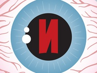 Bloodshot Eye Icon