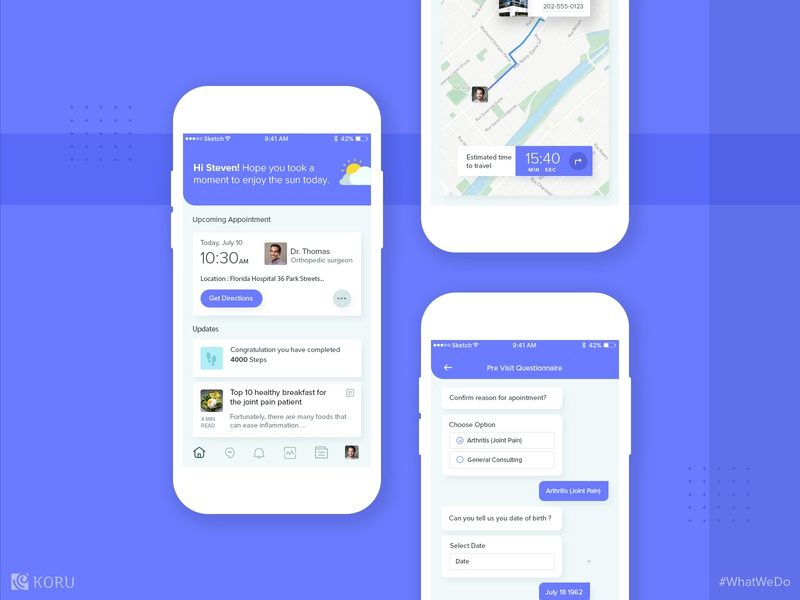 Practical Appointment Booking Application by Koru UX Design