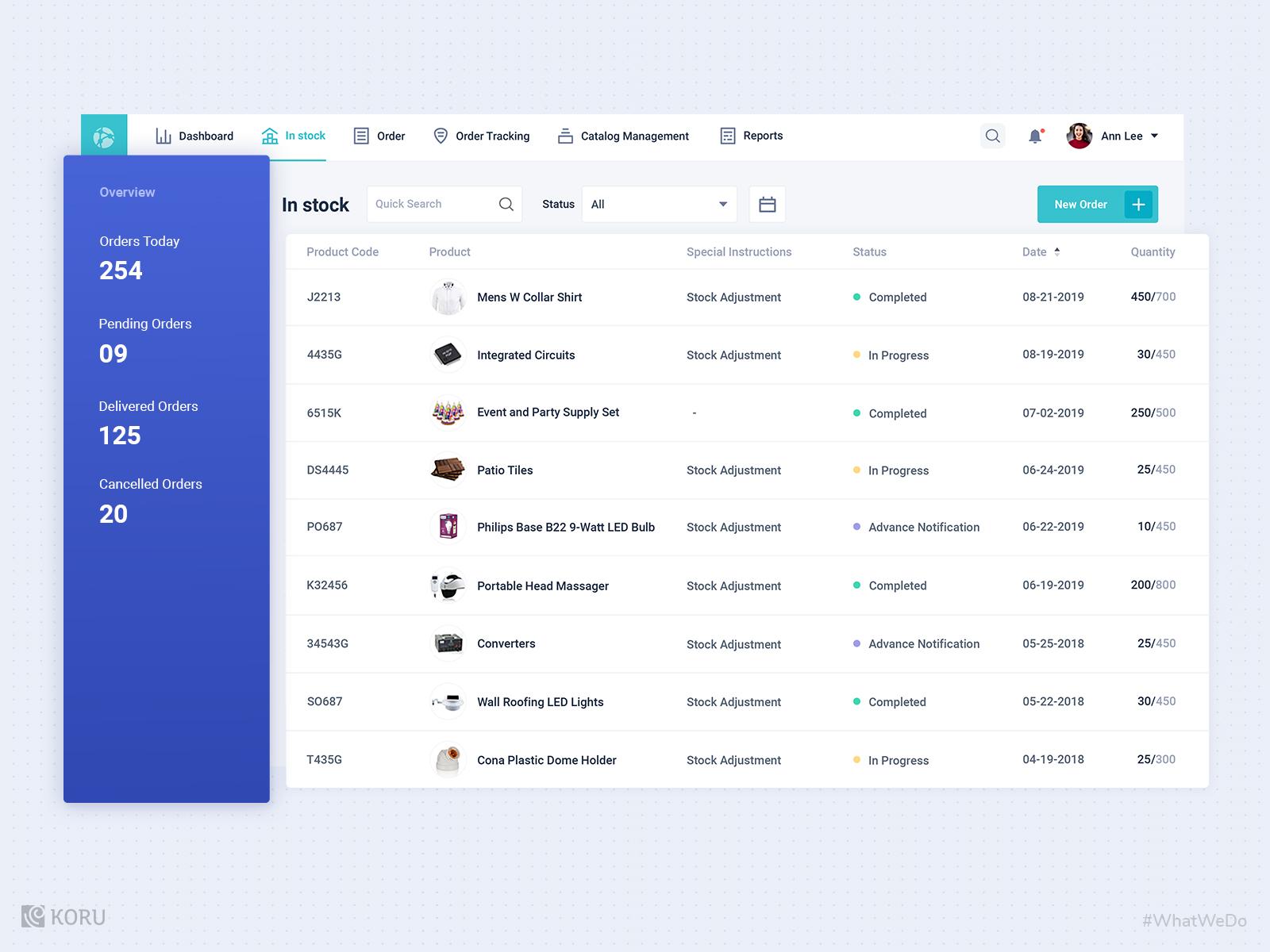 Smart Inventory Management System Design By Koru Ux Design