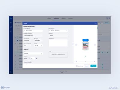 Hospital Inventory Management Application