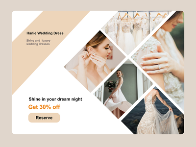 Wedding landing page webdesign ui ux vip bride wedding dress wedding webdesig web landingpage landing