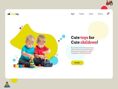 toy store toy store children toy web design website webdesign ux ui