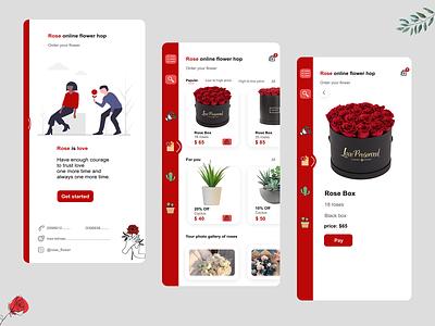 online flower shop mobile online shop application app flower shop flowershop flowers flower