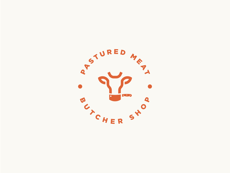 Butcher shop logo guidelines packaging mockup icon brand logotype identity branding logodesign logo