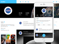 Twitter redesign | Profile page