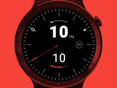 Android Wear – Hud | With updates time ustwo ui watch wearable clock android wear analog