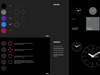 Android Wear – Classic analog time clock ustwo ui google classic watch face maker wearables android
