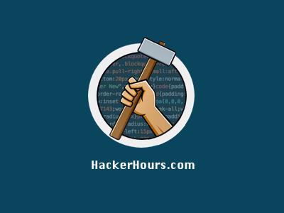 Hackerhours logo code hack