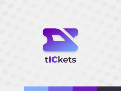 tICkets - logo concept