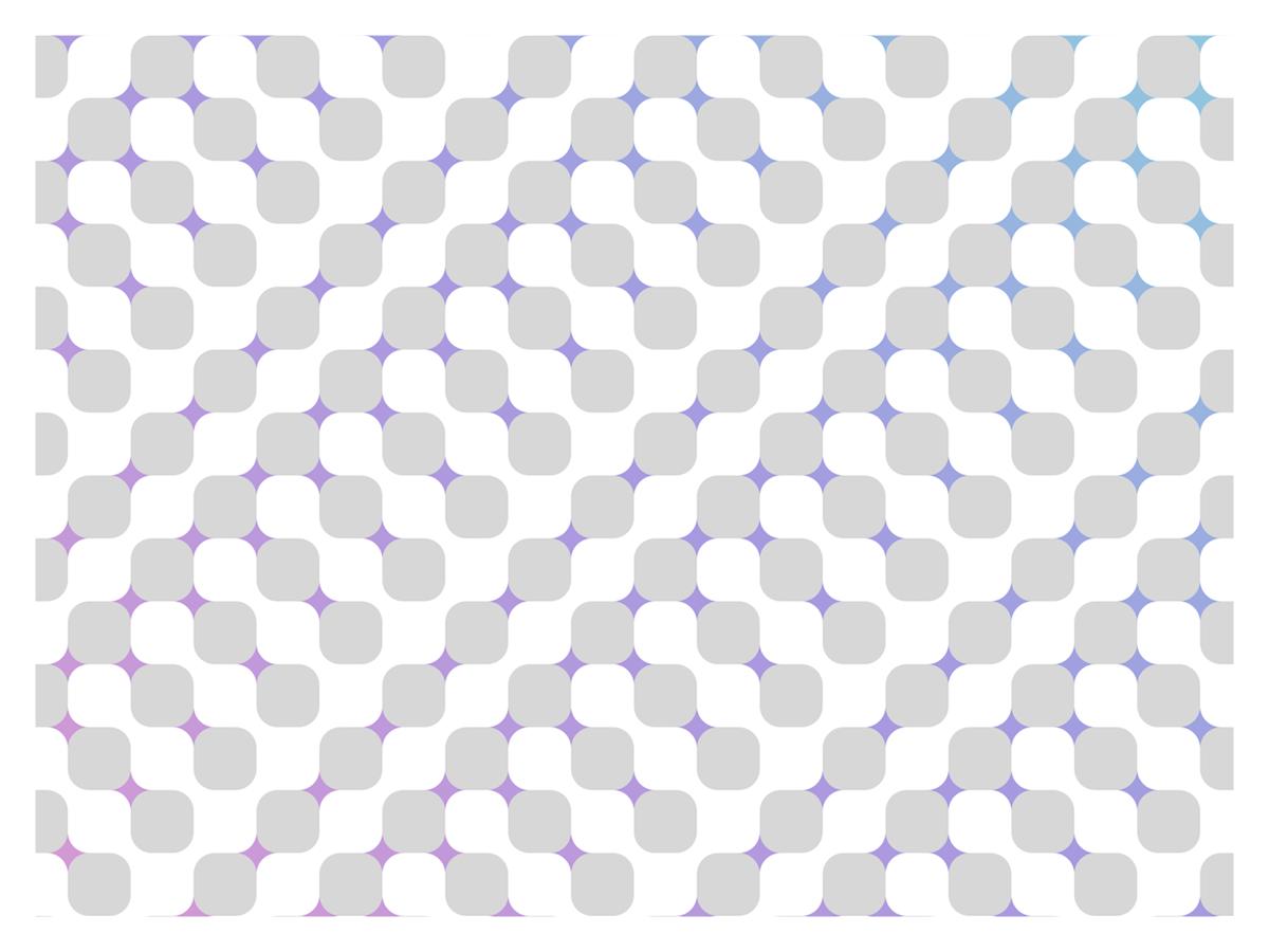 Optical Illusion subtle grey gray white gradient flat illusion optical optical illusion