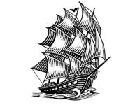 Rx lacas ship logo