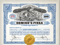 Rx dom stock certificate