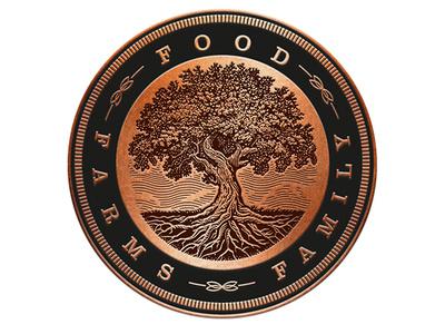 Enroot Logo tree logo packaging branding logo roger xavier scratchboard woodcut