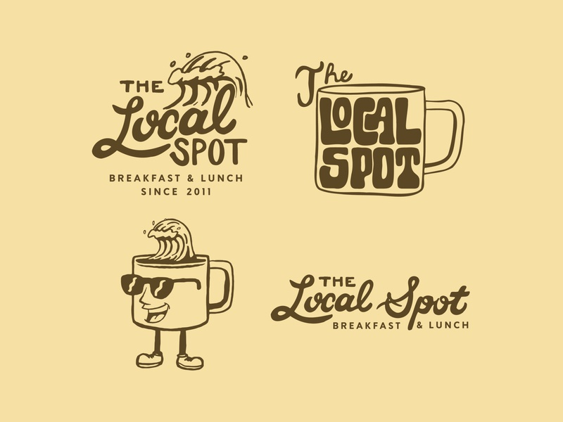 The Local Spot Logo Pack