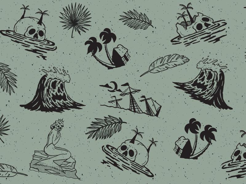 Shipwreck Island Pattern