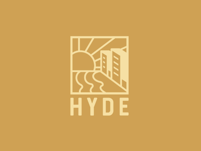 Hyde Logo create adobe illustrator corporate design real estate logo logo design