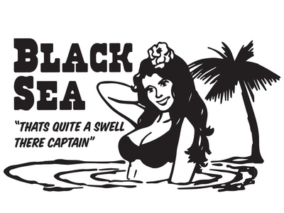 Black Sea T-shirt Graphic