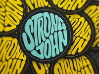 Strong John Concentrates Sticker