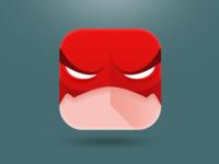 Flash flash marvel superhero ipad flat iphone ios