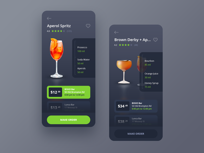 Yourfriday app illustration design ui clean icon flat application android ios cocktail drinks friday app