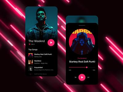 Music Player apple ui clean shadow ipad iphone ios icon flat app