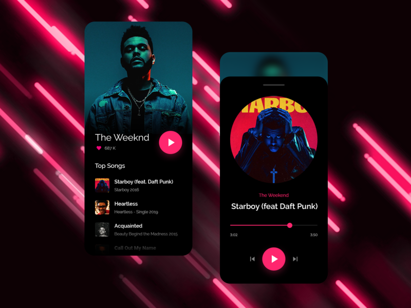 Music Player apple ui clean shadow ipad iphone ios icon flat app