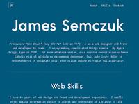 Minimalist Portfolio Site