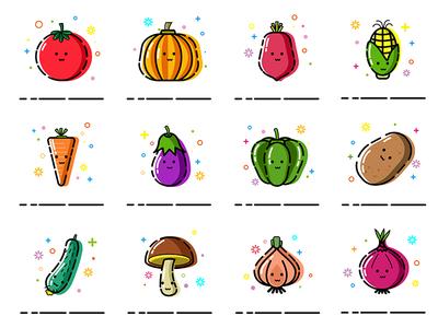 Vegetable icon-MEB