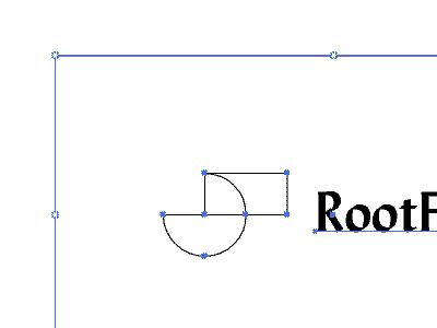 In Progress illustration graphic agency production house branding minimal geometrical shapes geometry design wip logo