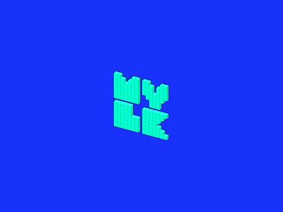 Favicon geometry isometry isometric icons pixel art pixel graphic design graphic art portfolio mylk favicon