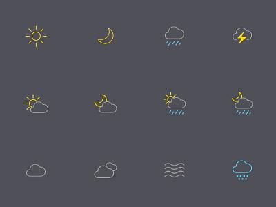 oWeather 3.0 Icons weather icons forecast app oweather