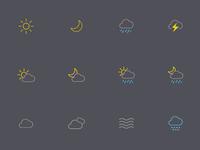 oWeather 3.0 Icons