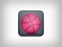 My Dribbble Icon