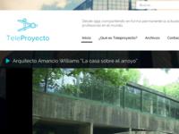 Teleproyecto website redesign