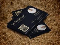 mr. benjamin - Local Hairstylist Business Card Design