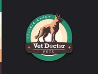 Vet Logo - Vet Doctor Pets