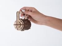 Ugears Combinate Lock Model