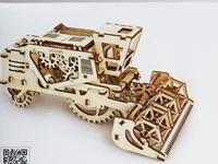 Ugears Combine Harvester Kit