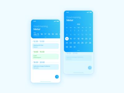 Weekly UI  6 Schedule