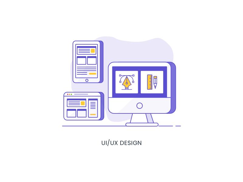 34 Services Icon Uiux Design By Blackslate Digital Dribbble