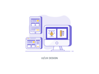 (3/4) Services Icon - UI/UX Design