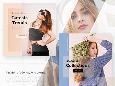 Promotional Banner product fashion brand bannerdesign design fashion