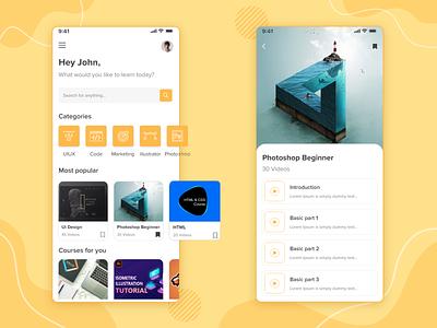 Study Online during this Pandemic time ux ui artist app design appdesigner webdesign appdevelopment app