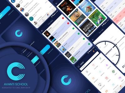 Avanti School App