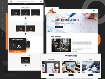 WordPress Website logo design themes webdevelopment data translator data visualization wordpress website webdesign